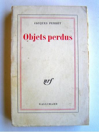 Jacques Perret - Objets perdus