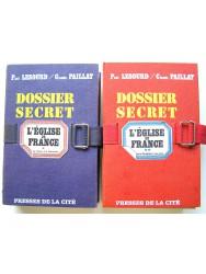 Paul Lesourd & Claude Paillat - Dossier secret. L'Eglise de France. Tome 1 & Tome 2