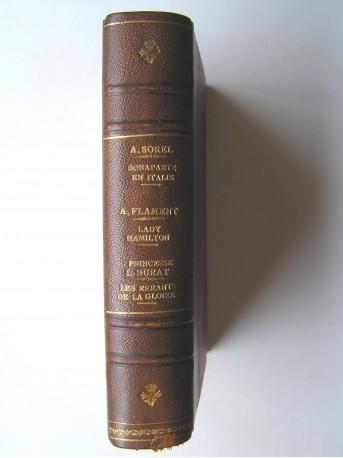 Collectif - Réunion en un seul volume de trois titres ayant pour thème Napoléon.
