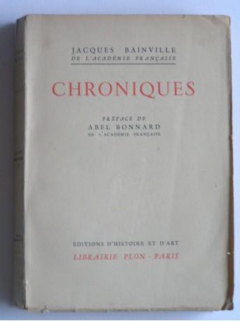 Jacques Bainville - Chroniques