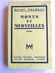 Henri Pourrat - Monts et merveilles