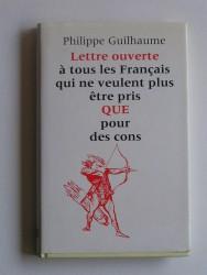 Lettre ouverte aux Français qui ne veulent plus être pris pour des cons