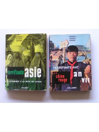 Pierre et Renée Gosset - Terrifiante Asie. Tme 1 & 2