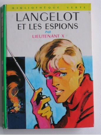 Lieutenant X (Vladimir Volkoff) - Langelot et les espionsfait le malin