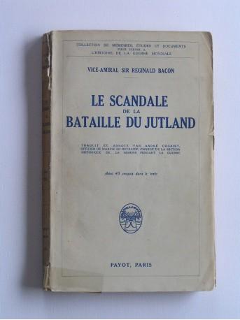 Vice-amiral Réginald Bacon - Le scandale de la bataille du Jutland