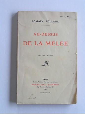 Romain Roland - Au-dessus de la mêlée