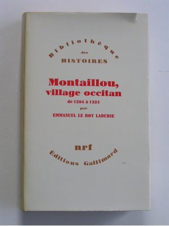 Emmanuel Le Roy Ladurie - Montaillou, village occitan de 1294 à 1324