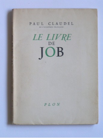 Paul Claudel - le livre de Job