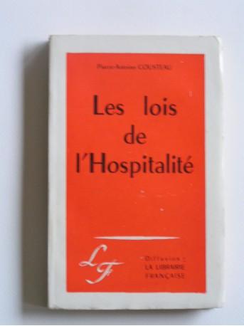 Pierre-Antoine Cousteau - Les lois de l'hospitalité