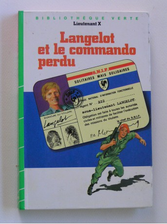 Lieutenant X (Vladimir Volkoff) - Langelot et le commando perdu