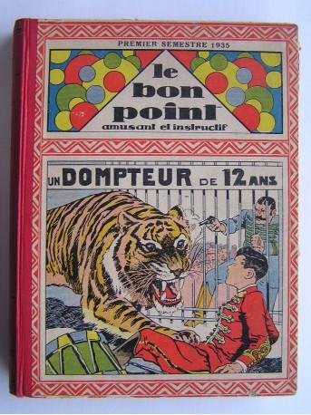 Collectif - Le bon point. Amusant et instructf. Premier semestre 1935