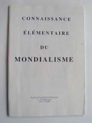 Anonyme - Connaissance élémentaire du Mondialisme