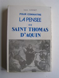 Pour connaitre la pensée de Saint Thomas d'Aquin.