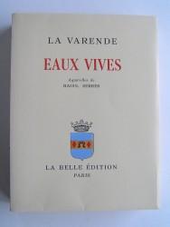Jean de La Varende - Eaux vives