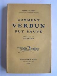 Comment Verdun fut sauvé