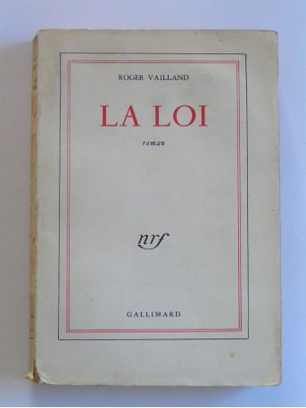 Roger Vailland - La loi