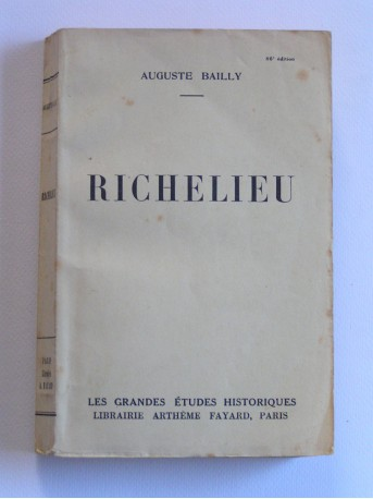 Auguste Bailly - Richelieu