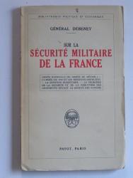 Sur la sécurité de la France