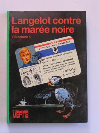 Lieutenant X (Vladimir Volkoff) - Langelot contre la marée noire