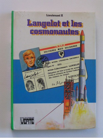 Lieutenant X (Vladimir Volkoff) - Langelot et les cosmonautes