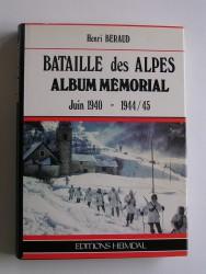Bataille des Alpes. Juin 1940 - 1944/45