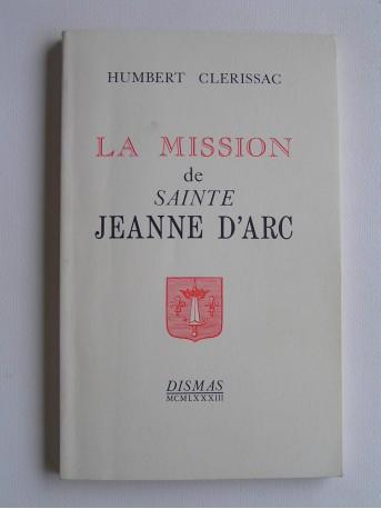 Abbé Humbert Clerissac - La mission de sainte Jeanne d'Arc