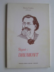 Signé: Drumont