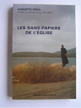 Huguette Pérol - Les sans-papiers de l'Eglise