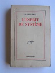 L'esprit de système