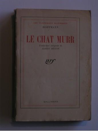 Hoffmann - Le chat Murr