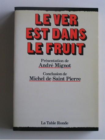 André Mignot - Le ver est dans le fruit