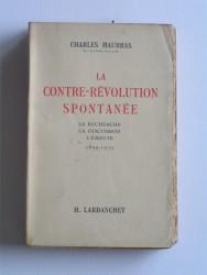 La contre-révolution spontanée