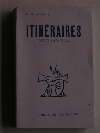 Collectif - Itinéraires n°264. Chroniques et documents