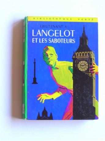 Lieutenant X (Vladimir Volkoff) - Langelot et les saboteurs