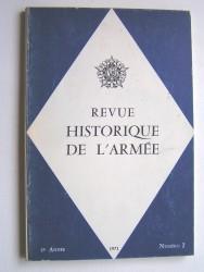 Revue historique de l'Armée. Numéro 2 - 1971
